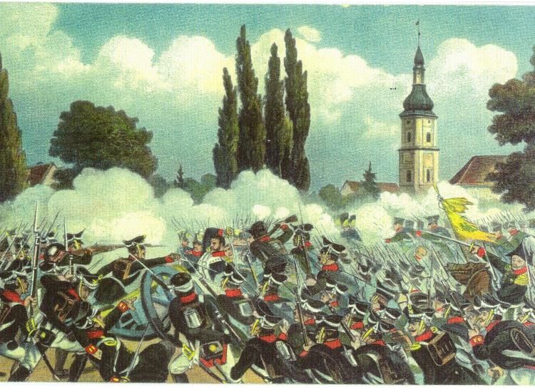 Bild 1 Schlacht um Schönefeld