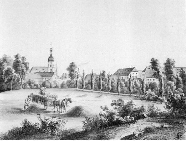 Bild 3 - Ansicht Schönefeld Kirche